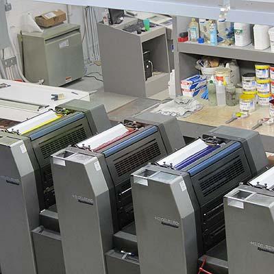 drukpers vier kleuren drukstraat